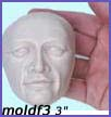 moldf3- 3 inch(7.62 cm) serious male face(with ears)
